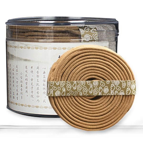 FREE SHIPPING, Small  2 hours of pure natural sandalwood incense