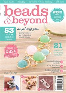 Buy your June issue from: http://shop.inspiredtomake.com/beads-beyond-june-2015