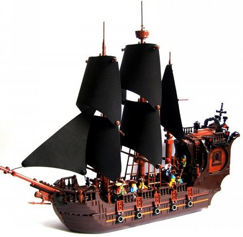 OLD SHIP: A LEGO® creation by Hrvoje Majetich : MOCpages.com