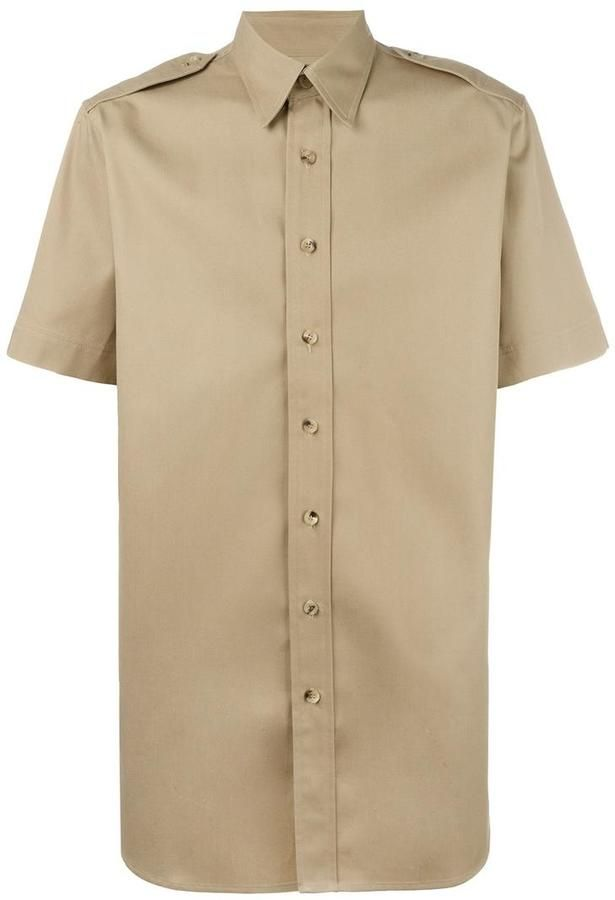 Palm Angels college safari shirt