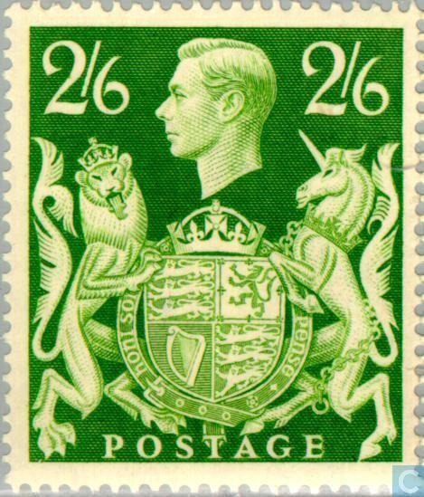 Stamps - Great Britain [GBR] - King George VI 1942