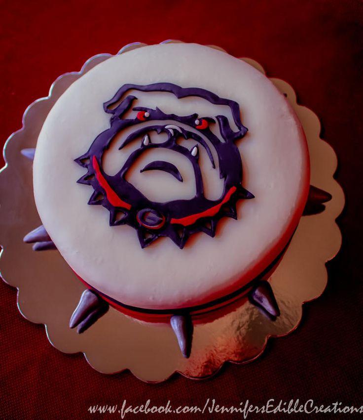 Ga Bulldog Cake Designs