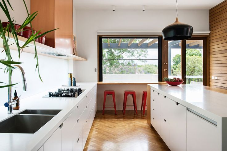 How this house by Nest Architects forms a backdrop to family life