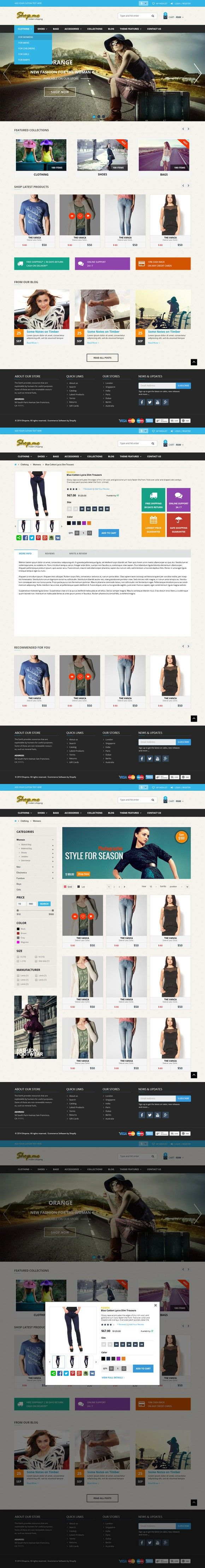 57 best OpenCart Themes images on Pinterest