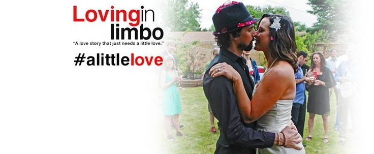 The banner from LovinginLimbo.com.  Sweet kisses from the couple on their wedding day.  Awww...