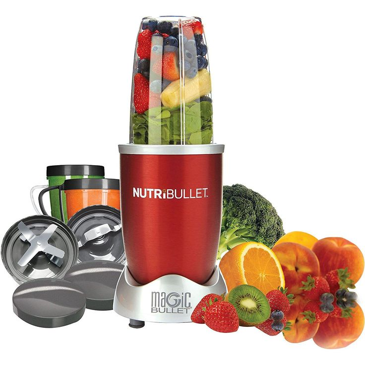 Share and win this $80 Magic Bullet NutriBullet 12-Piece High-Speed Blender/Mixer System