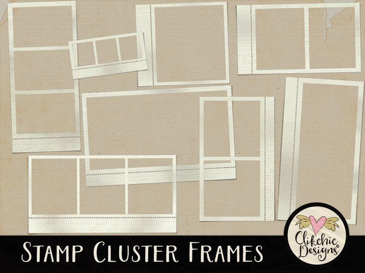 Stamp Cluster Frames