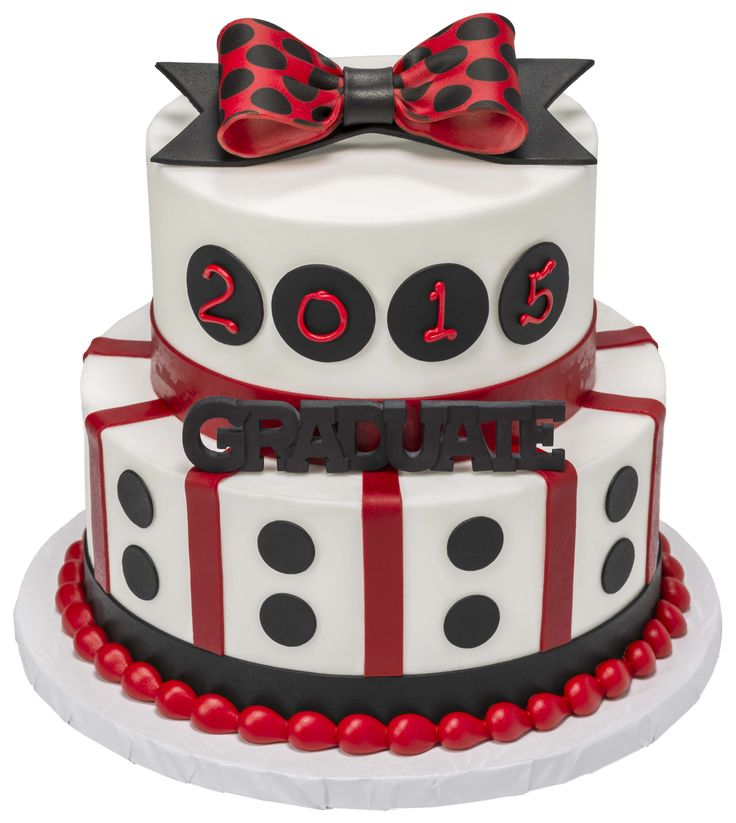 Create stylish graduation cakes with fondant and gum paste from DecoPac