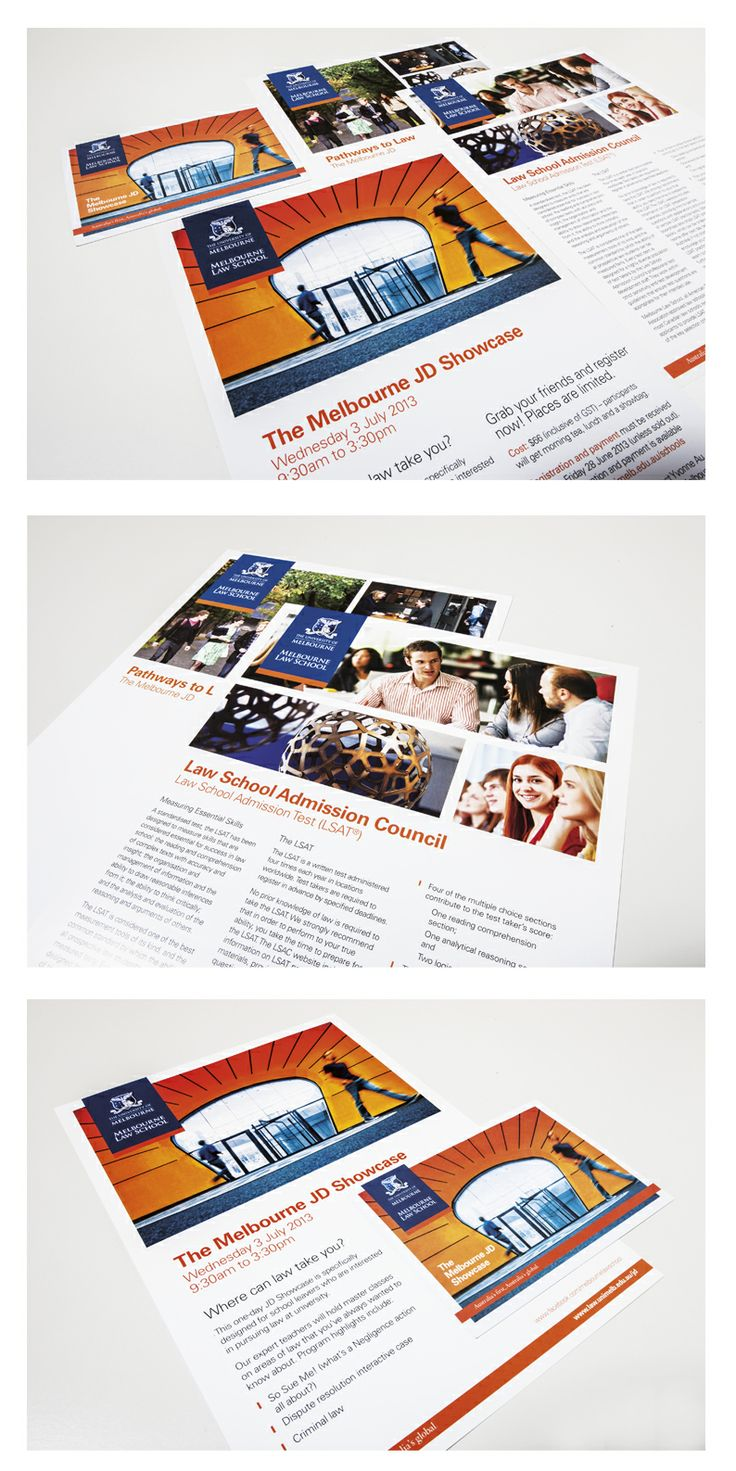 Agency: Wellmark | Client: Melbourne Law School | Category: Law, School | Channel: Brochures | Audience: Students