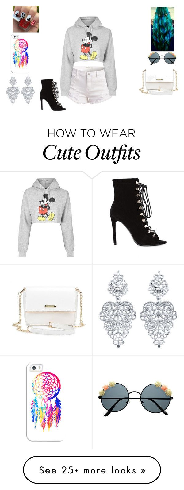 """""""A Outfit"""" by jordanbond55 on Polyvore featuring Topshop, Casetify and Disney"""