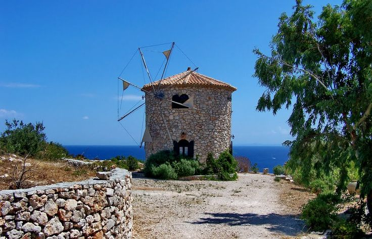 We ♥ Greece | Old stone windmill, Zakynthos island #Greece #travel #greekislands #explore #destination
