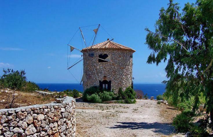 We ♥ Greece | Old stone windmill, Zakynthos island #Greece #travel #greekislands #explore #destination