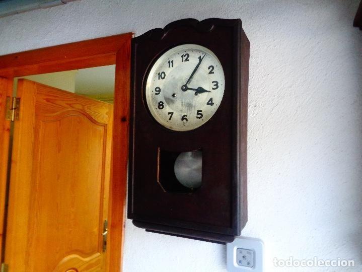 Reloj Pared Maquinaria Alemana Relojes Pared Carga Manual Relojes De Pared Pared Disenos De Unas