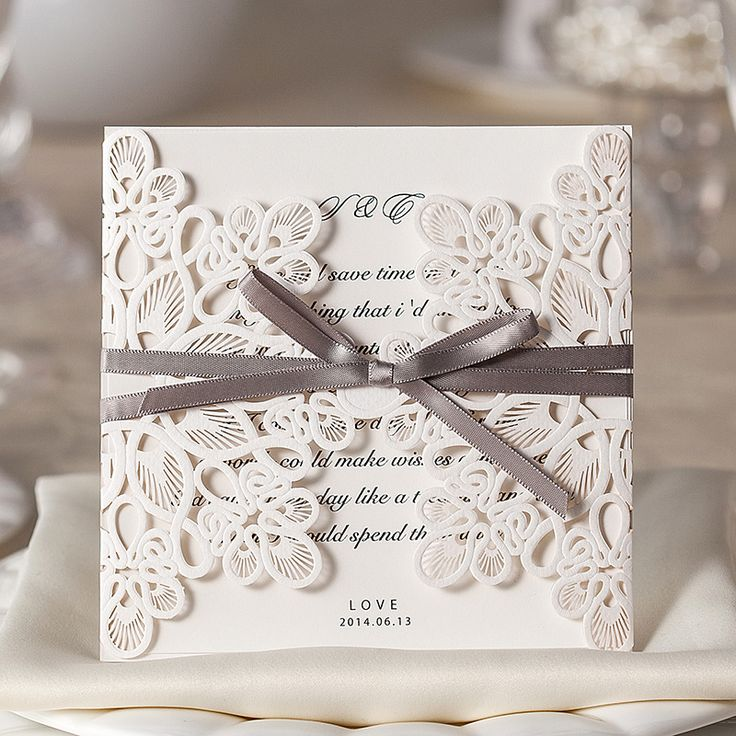 super unique laser cut wedding invitations%0A      New Vantage Style Luxury White Wedding Invitations card Wedding  Supplies Wedding Favors And Gifts
