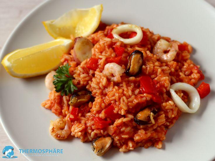 Djuvec Reis mit Meeresfrüchten - Thermosphäre