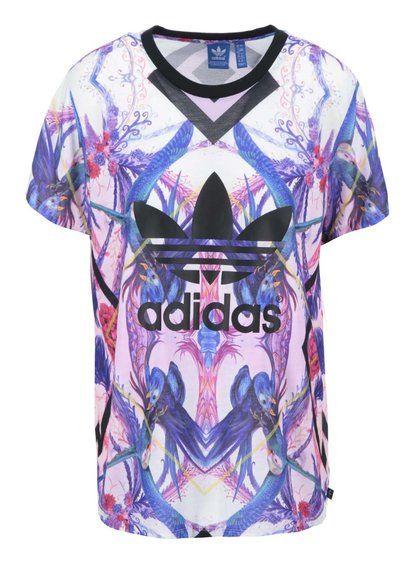 Farebné dámske vzorované tričko adidas Originals Florera 34,95€ -> 27,95€
