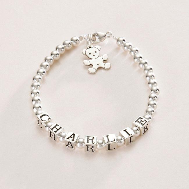 923a8fb6670d pulseras de plata para niñas - Buscar con Google | pulseras ...