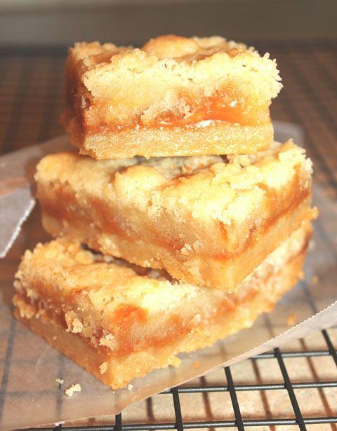 Easy Salted Caramel Shortbread Bars | Desserts | Pinterest