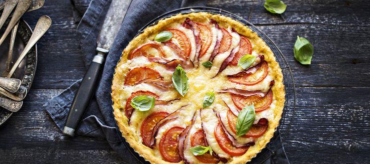 Helppo Dijon-kinkkupiirakka | Suolaiset leivonnaiset | Reseptit – K-Ruoka