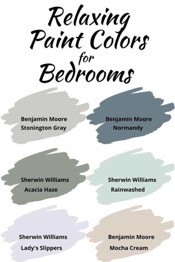 Relaxing Bedroom Paint Colors In 2020 Relaxing Paint Colors Calming Bedroom Paint Colors For Home