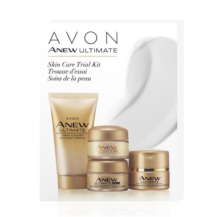 Avon Skin Care: Anew Ultimate Skin Care Trial Kit. A Set That Helps To
