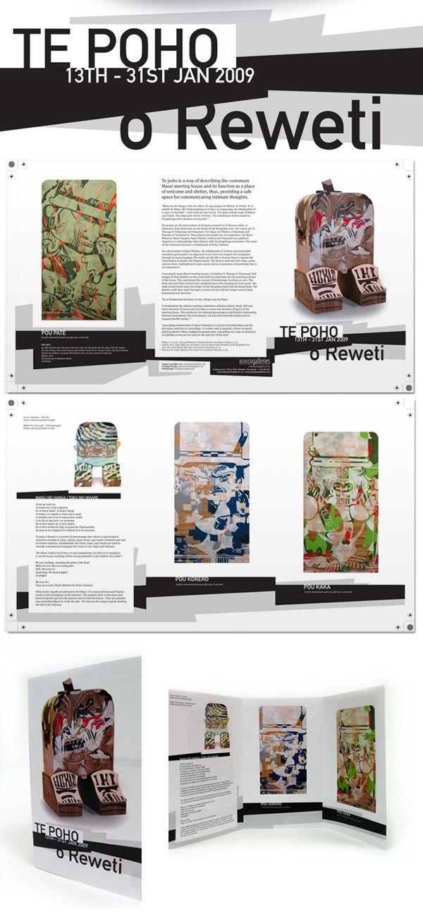 Reweti Arapere Online Portfolio: Te Poho o Reweti