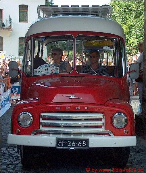 """Rheinbach 2005 - Oldtimer-Rallye: Opel """"Blitz"""""""