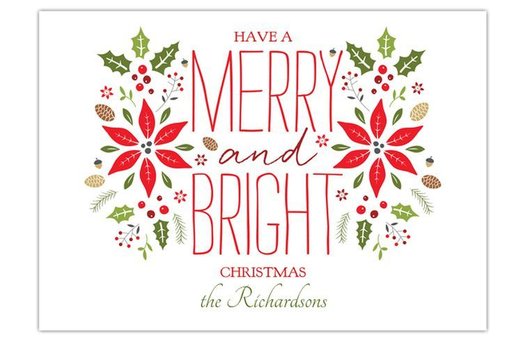 15 Fabulous and Free Christmas Ecards for Everyone You Know: Merry and Bright by LadyBirddee