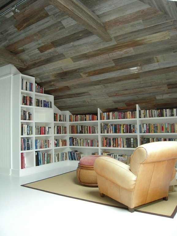 Small spaces book cases!