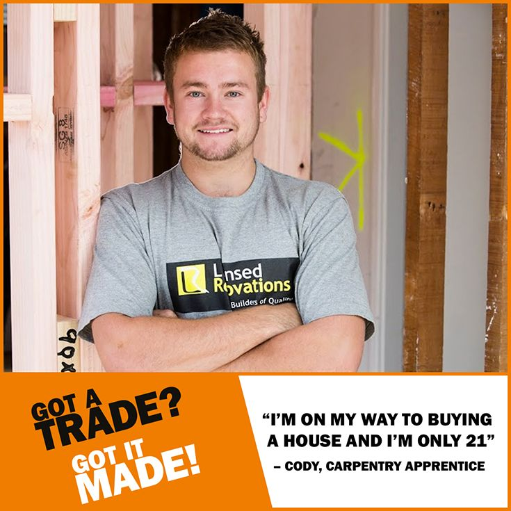 An #apprenticeship gives you a head start in becoming #financially #independent. What are you waiting for? #GotATrade #GotItMade