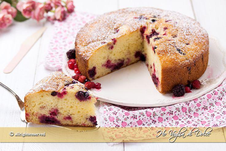 Torta+ai+frutti+di+bosco+e+mascarpone