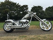 Harley Davidson Big Dog K9 custom chopper FLÖTE CRUISER 1918CC S & S SÅLD
