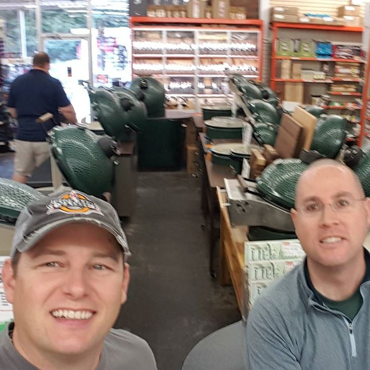 We made it to the Ultimate Toy Store! @roswellhardware Thanks for the Hospitality as usual! Can't wait to see the rest of the BBQ gang! #KickAshBasket and my #kickashneighbor Brian!