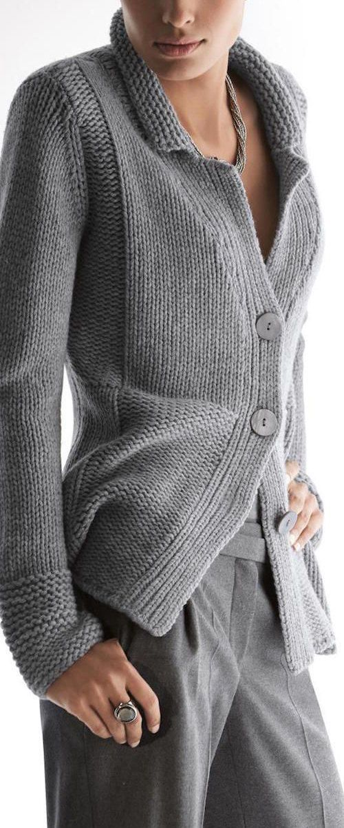 Cachemira de cuello de punto jersey de lana las por BANDofTAILORS