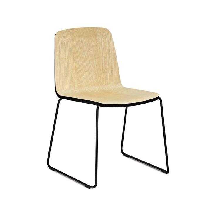 Just stol - Just stol - ask, svart kant, svart stativ