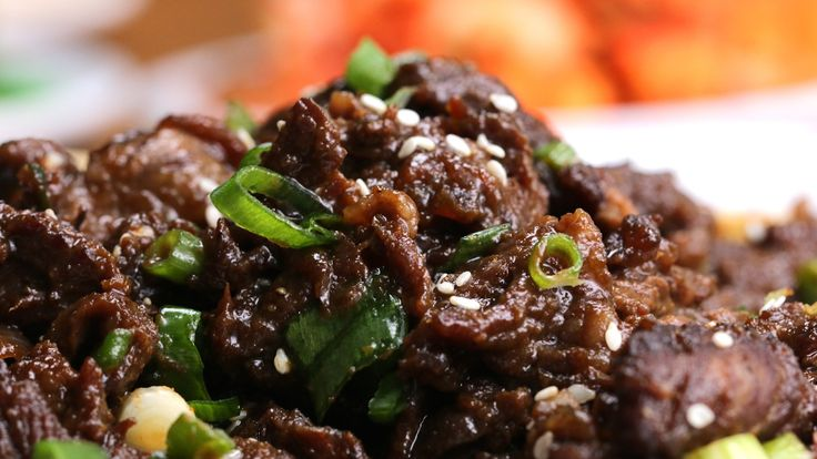 Here is what you'll need! Korean-Style BBQ Beef Servings: 2-3 INGREDIENTS 700 grams rib eye steak, or any other well-marbled, tender cut ½ onion, cut into ch...