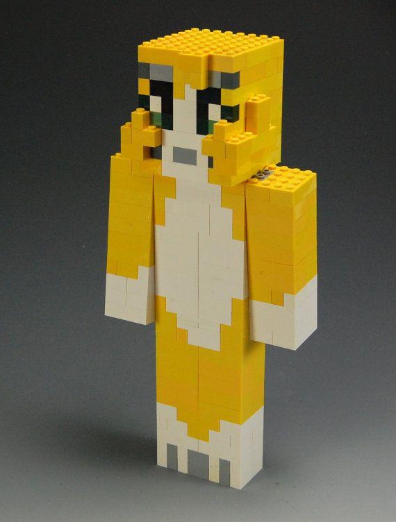 Lego Minecraft Stampylonghead by BrickBum on Etsy