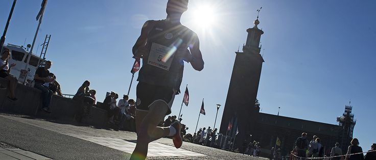 Stockholm Halvmarathon: Hem