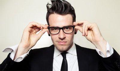 Mens eyeglasses - Retro style