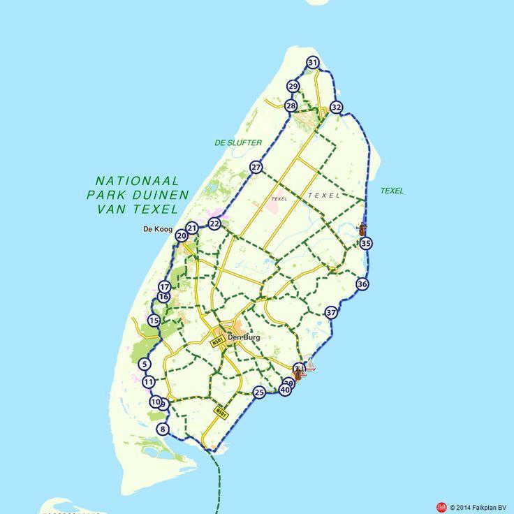 Fietsroute: Rondje Texel in een dag (http://www.route.nl/fietsroutes/114655/Rondje-Texel-in-een-dag/)