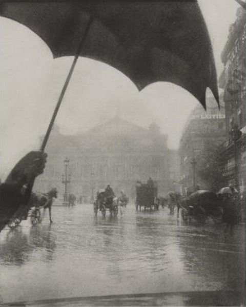 Pierre Dubreuil, Opera, Rainy Day, 1909