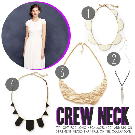 10+ images about Necklines and Necklaces on Pinterest ...