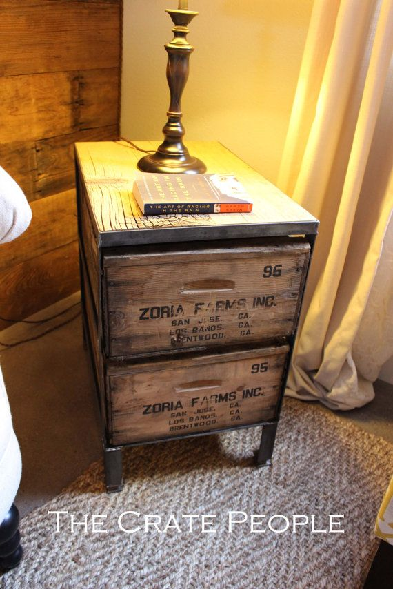 Zoria Farms Side table Nightstand Accent Table