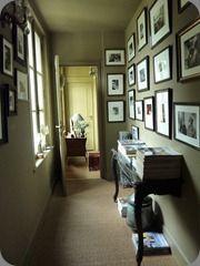 176 best images about sur les murs on pinterest photo walls metallic gold - Deco couloir baroque ...