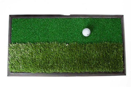 """Orlimar Real Strike 13 Series Dual Rough/Fairway Surfaces with Rubber Mat (13 x 24-Inch) by Orlimar. Save 22 Off!. $39.24. mfr: King Par ORLIMAR ACC OR REAL STRIKE 13 DUAL SURFACE HIT MAT. RealStrike 13.0 Practice Mat 24 x 13 """" Mat divided in to simulated Fairway and rough grass lengths Includes three rubber tees This item cannot be shipped to APO/FPO addresses. Please accept our apologies."""