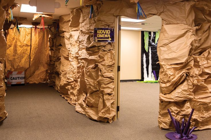 KidVid Cinema Entrance: Show kids the way to KidVid Cinema with colorful  Cave Quest Station Signs. #cavequest | Cave Quest VBS | Pinterest | Cave  quest