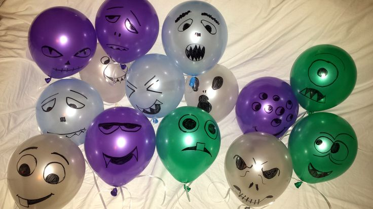 #monsterballons #monsterdrawingballons #balloondecorations #balloons #halloweenballons #halloween #scaryballoons