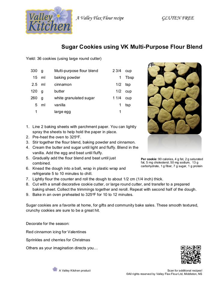 This is an updated version of our delicious sugar cookie recipe! Enjoy!