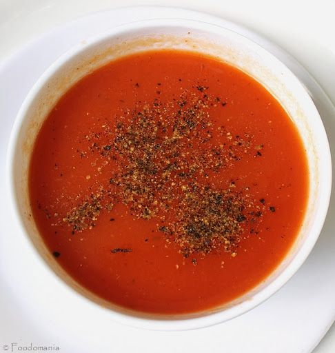 Simple Tomato & Vegetable Soup Recipe #Soup #TomatoSoup #EasySoup # ...