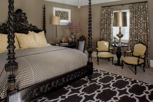 AphroChic: Jeff Andrews Designs A Glamorous Abode For Kimberly + Tyson Chandler
